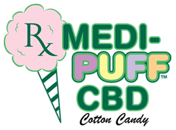 CBD in Cotton Candy by MEDI PUFF